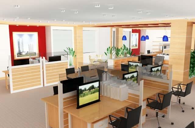 Thi công Thiết kế nội thất văn phòng tại Hà Nội