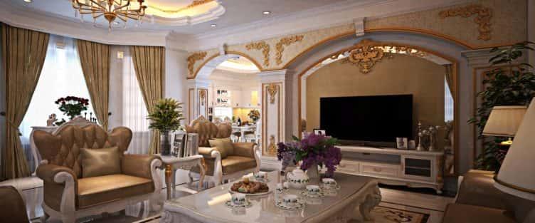 Vẻ đẹp tiềm ẩn của phong cách thiết kế nội thất tân cổ điển mà bạn chưa biết?