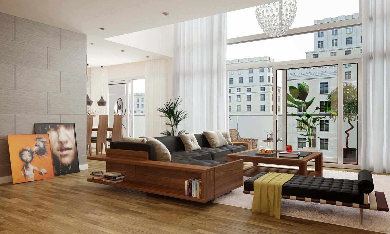 noi that phong khach nhap khau 6 - Thiết kế nội thất phòng khách đẹp