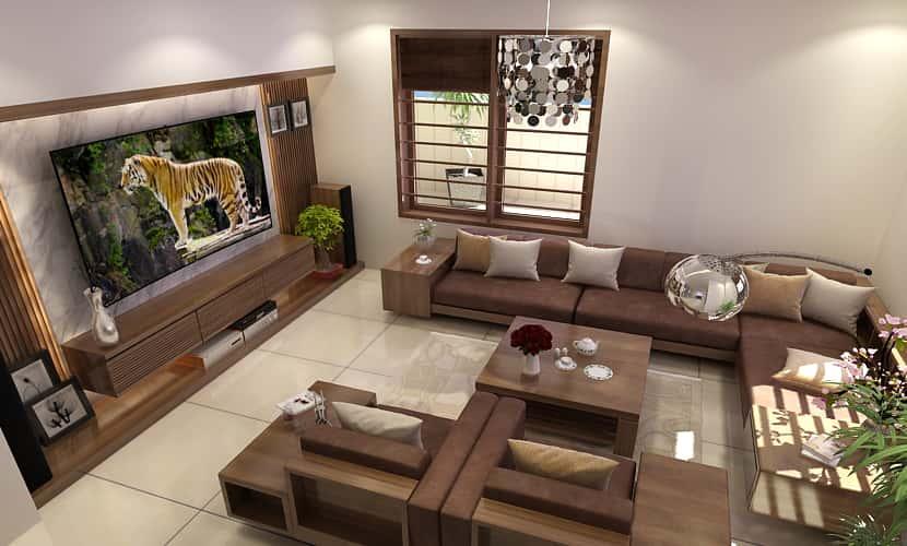noi that phong khach nhap khau 7 - Thiết kế Biệt Thự Mini Cấp 4 đẹp và Chuyên Nghiệp