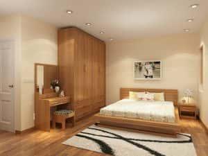 noi that phong ngu 201116 02 300x225 - Thiết kế nội thất phòng ngủ