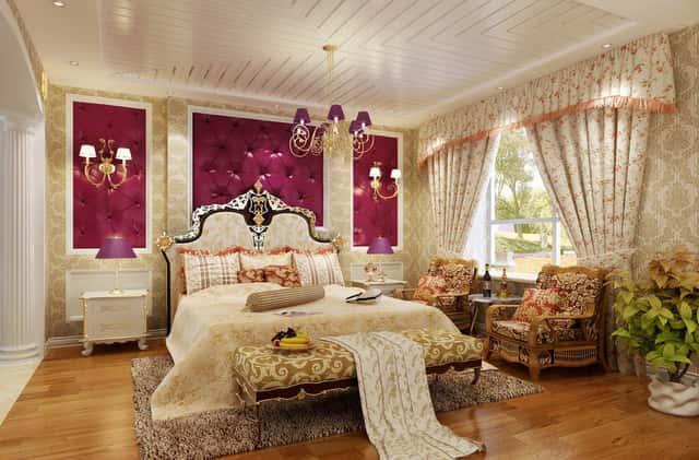 noi that phong ngu tan co dien8 - Thiết kế nội thất chung cư 2 phòng ngủ