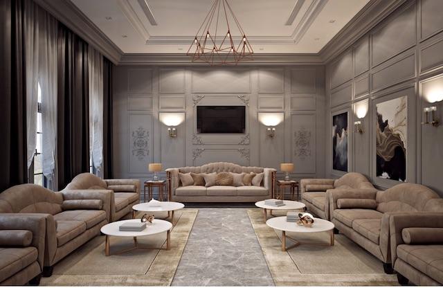 """noi that tan co dien dep - Bật mí những """"bí mật"""" của phong cách thiết kế nội thất tân cổ điển đẹp"""