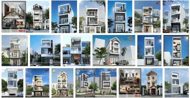thiet ke nha ong 3 tang - Thiết kế nhà 4 tầng đẹp