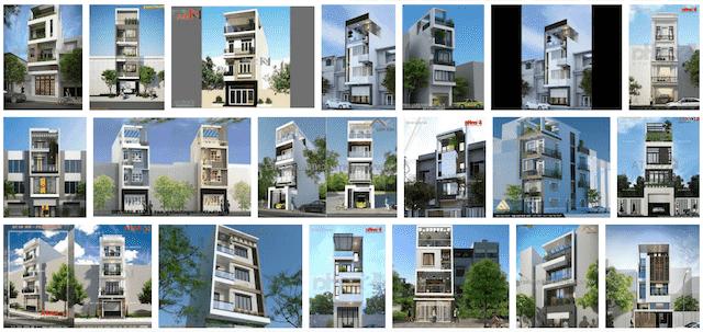 21 Mẫu thiết kế nhà ống 4 tầng đẹp ấn tượng và nổi bật