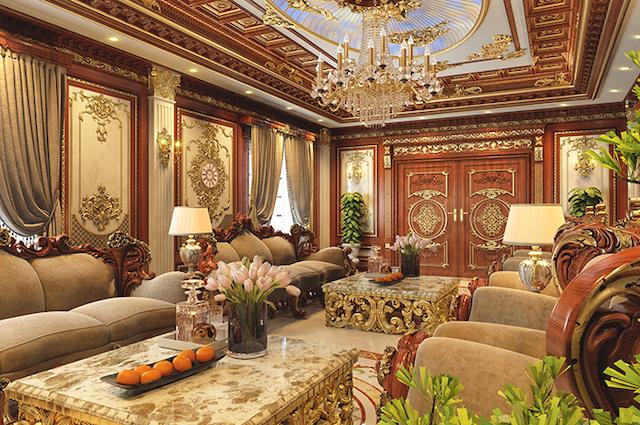 thiet ke noi that biet thu co dien 6 - Thiết kế nội thất lâu đài