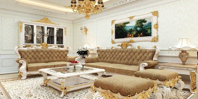 thiet ke noi that phong khach biet thu 3 - Thiết kế nội thất phòng khách biệt thự đẹp sang trọng cao cấp