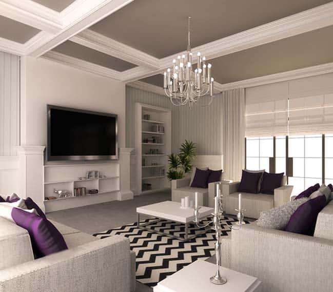 thiet ke noi that phong khach chung cu 13 - Thiết kế thi công nội thất căn hộ chung cư đẹp
