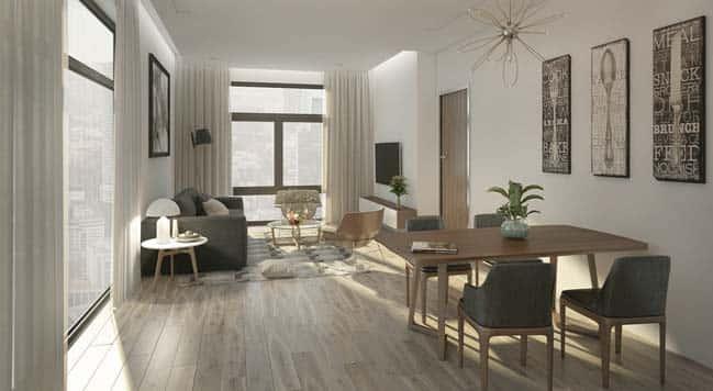 thiet ke noi that phong khach chung cu 2 - Thiết kế nội thất chung cư hiện đại