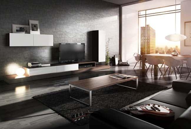 thiet ke noi that phong khach chung cu 3 - Thiết kế nội thất phòng khách đẹp