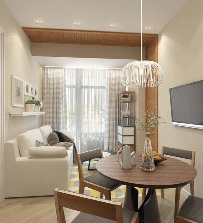 thiet ke noi that phong khach chung cu 6 - Thiết kế nội thất chung cư hiện đại