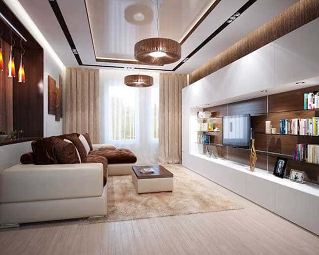 thiet ke noi that phong khach chung cu 8 - Thiết kế nội thất chung cư hiện đại