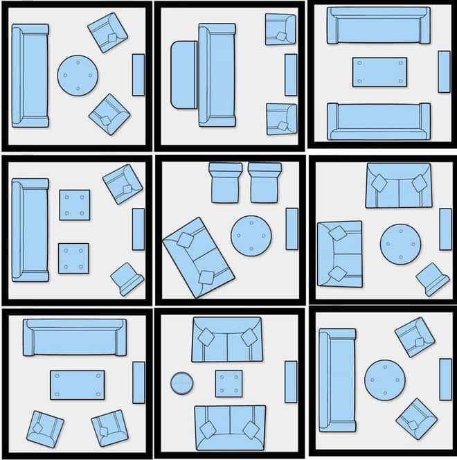 thiet ke noi that phong khach nho 1 1 - Tổng hợp các mẫu biệt thự 2 tầng 80m2 đẹp và sang trọng