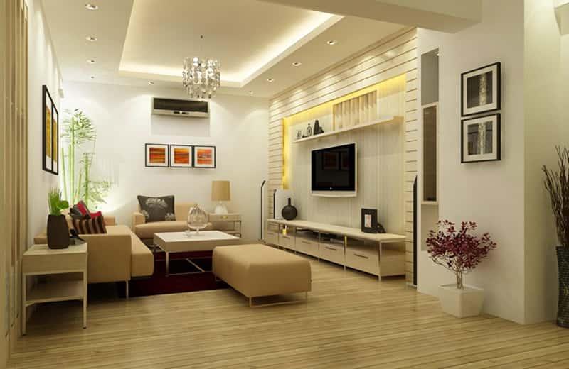 thiet ke noi that phong khach nho 1 - Thiết kế nội thất phòng khách nhỏ với 5 bí quyết đơn giản tại nhà