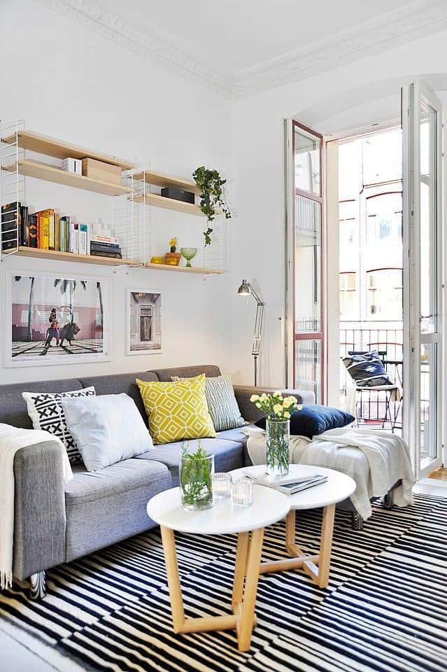 thiet ke noi that phong khach nho 11 1 - Thiết kế nội thất phòng khách nhỏ với 5 bí quyết đơn giản tại nhà