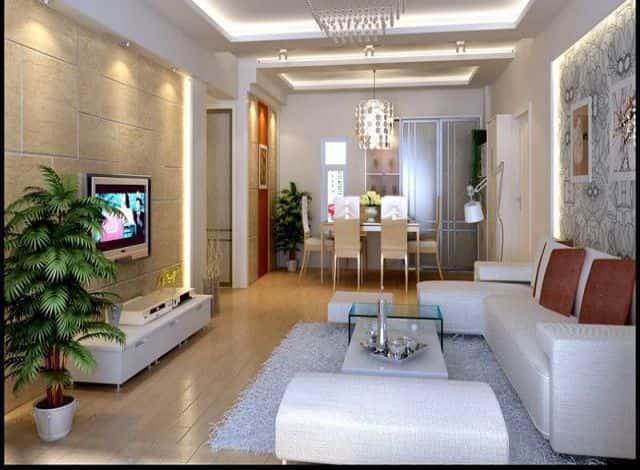 thiet ke noi that phong khach nho 11 - Thiết kế nội thất phòng khách nhỏ với 5 bí quyết đơn giản tại nhà