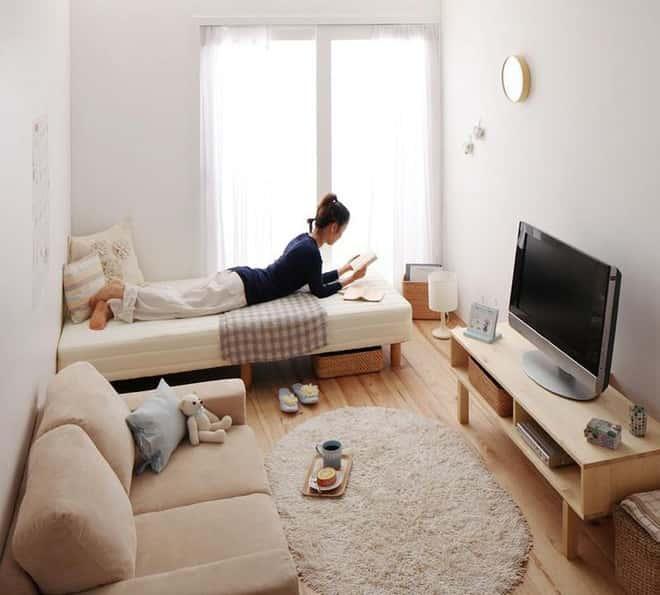 thiet ke noi that phong khach nho 12 1 - Thiết kế nội thất phòng khách nhỏ với 5 bí quyết đơn giản tại nhà