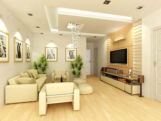thiet ke noi that phong khach nho 12 - Thiết kế nội thất phòng khách nhỏ với 5 bí quyết đơn giản tại nhà