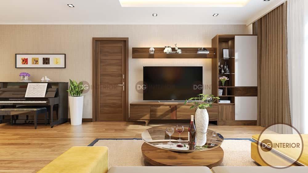 thiet ke noi that phong khach nho 18 - Thiết kế nội thất phòng khách nhỏ với 5 bí quyết đơn giản tại nhà