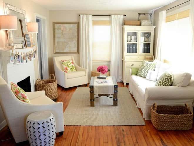 """thiet ke noi that phong khach nho 2 1 - Thiết kế nội thất phòng khách 25m2 với 20 mẫu """"ngon, bổ, rẻ"""" nhất"""