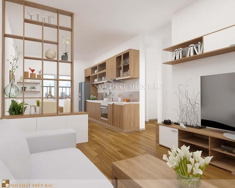 thiet ke noi that phong khach nho 20 - Thiết kế nội thất phòng khách đẹp