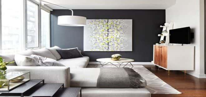 Thiết kế nội thất phòng khách nhỏ với 5 bí quyết đơn giản tại nhà