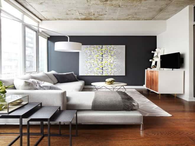 """thiet ke noi that phong khach nho 3 1 - Thiết kế nội thất phòng khách 25m2 với 20 mẫu """"ngon, bổ, rẻ"""" nhất"""