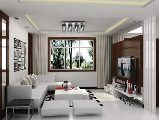 thiet ke noi that phong khach nho 3 - Thiết kế nội thất phòng khách nhỏ với 5 bí quyết đơn giản tại nhà