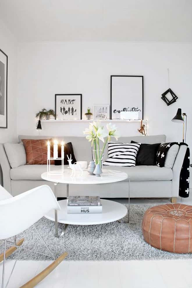 thiet ke noi that phong khach nho 4 1 - Thiết kế nội thất phòng khách nhỏ với 5 bí quyết đơn giản tại nhà