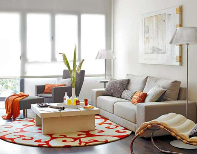 thiet ke noi that phong khach nho 5 1 - Thiết kế nội thất phòng khách đẹp