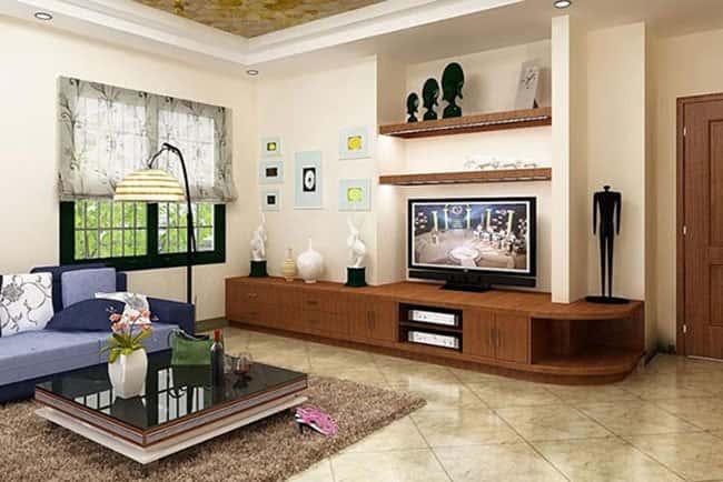 thiet ke noi that phong khach nho 5 - Thiết kế nội thất phòng khách nhỏ với 5 bí quyết đơn giản tại nhà
