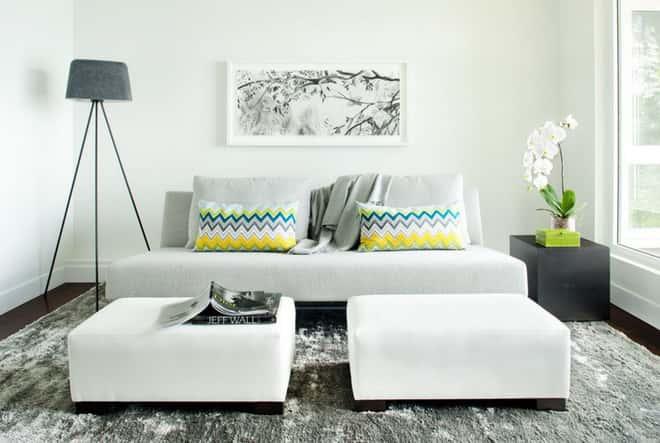 thiet ke noi that phong khach nho 8 1 - Thiết kế nội thất phòng khách nhỏ với 5 bí quyết đơn giản tại nhà