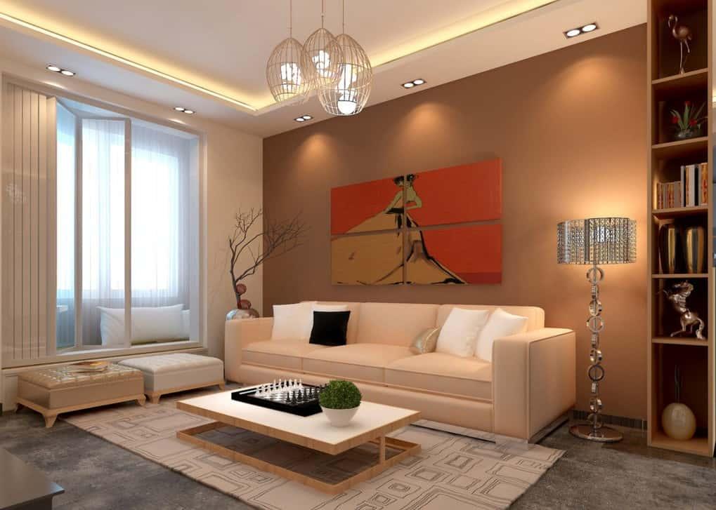 thiet ke noi that phong khach nho 9 - Thiết kế nội thất phòng khách nhỏ với 5 bí quyết đơn giản tại nhà
