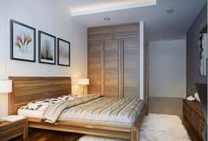 thiet ke noi that phong ngu nho 2 300x204 - Thiết kế nội thất phòng ngủ hiện đại