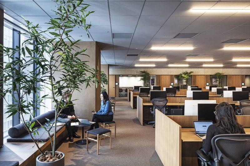 thiet ke noi that van phong dep 1 800x533 - Thiết kế nội thất văn phòng đẹp