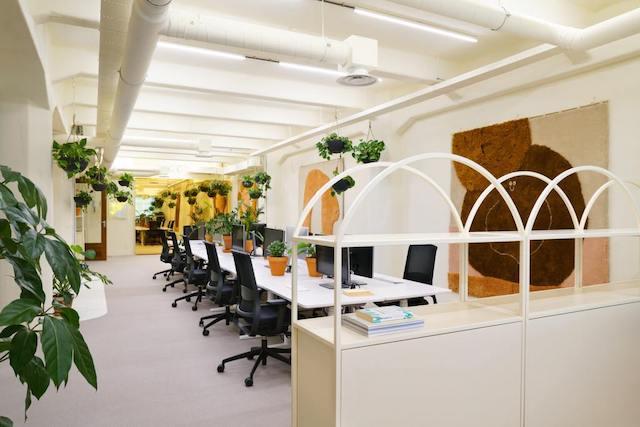 thiet ke van phong xanh 8 - Thiết kế nội thất văn phòng đẹp