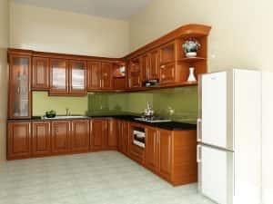 tu bep go xoan bac2 300x225 - 10 mẫu tủ bếp gỗ xoan bắc đẹp giá tầm 25 triệu