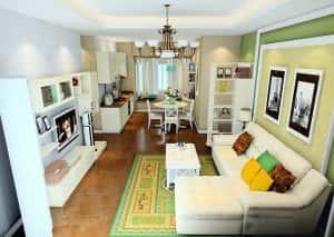 142324baoxaydung image001 300x213 - 10 mẫu phòng khách liên thông với bếp đẹp ăn khách nhất hiện nay