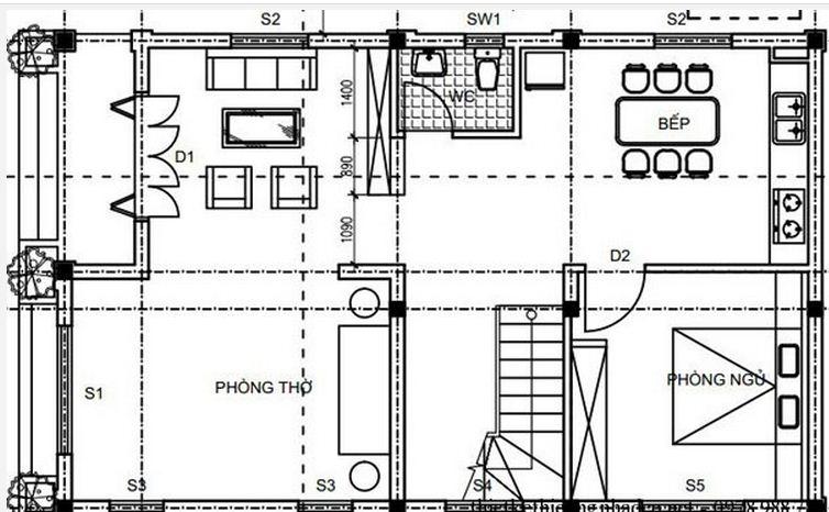 b%E1%BA%A3n v%E1%BA%BD bi%E1%BB%87t th%E1%BB%B1 3 t%E1%BA%A7ng 1 - Mẫu nhà biệt thự 3 tầng đẹp | Thiết kế biệt thự 3 tầng đẹp