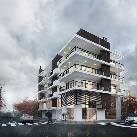 biệt thự 5 tầng 1 - 20 mẫu biệt thự 5 tầng đẹp đa phong cách