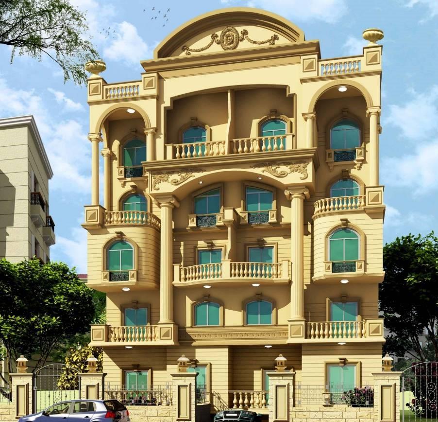 biệt thự 5 tầng 11 - 20 mẫu biệt thự 5 tầng đẹp đa phong cách