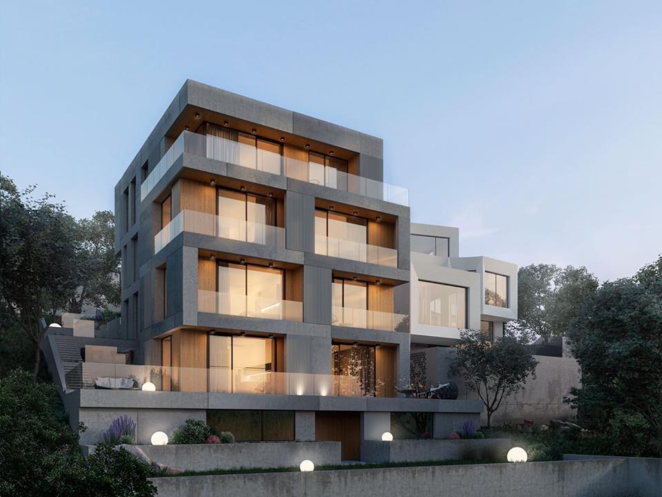 biệt thự 5 tầng 17 - 20 mẫu biệt thự 5 tầng đẹp đa phong cách