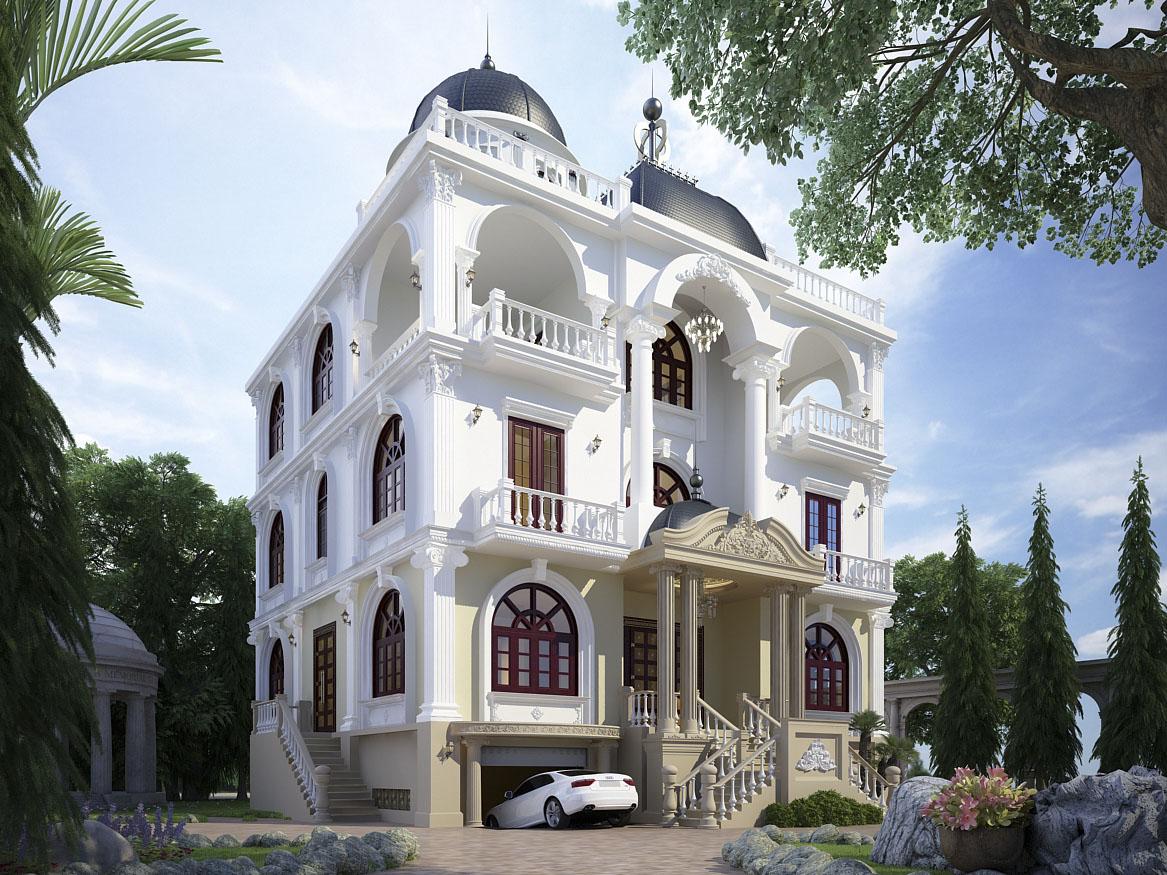 biệt thự 5 tầng 19 - 20 mẫu biệt thự 5 tầng đẹp đa phong cách
