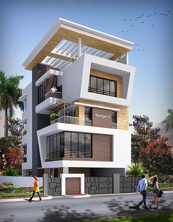 biệt thự 5 tầng 5 - 20 mẫu biệt thự 5 tầng đẹp đa phong cách
