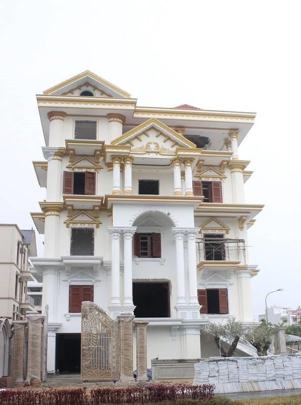 biệt thự 5 tầng 7 - 20 mẫu biệt thự 5 tầng đẹp đa phong cách