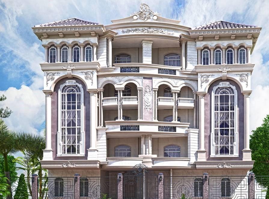 biệt thự 5 tầng 8 - 20 mẫu biệt thự 5 tầng đẹp đa phong cách