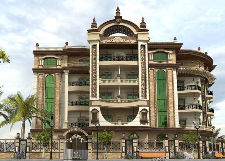 biệt thự 5 tầng 9 - 20 mẫu biệt thự 5 tầng đẹp đa phong cách