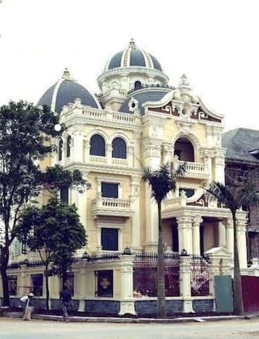 biet thu lau dai - Thiết kế biệt thự cổ điển đẹp