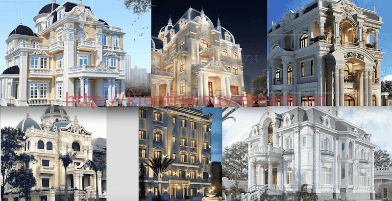 biet thu lau dai - Các dự án thiết kế Biệt thự lâu đài đẹp đã thực hiện