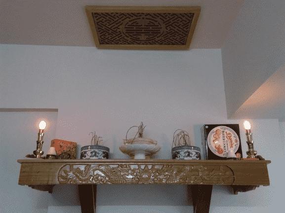 giai phap chong am khoi tran nha khi thap huong 1 - Bàn thờ treo tường phòng khách
